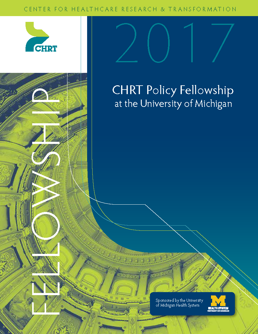 Download the 2017 CHRT Policy Fellowship brochure as a PDF